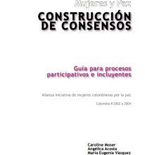 Mujeres y paz-Construcción de consensos