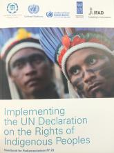 Parliamentarians Handbook on Implementing the UN Declaration on the Rights of Indigenous Peoples